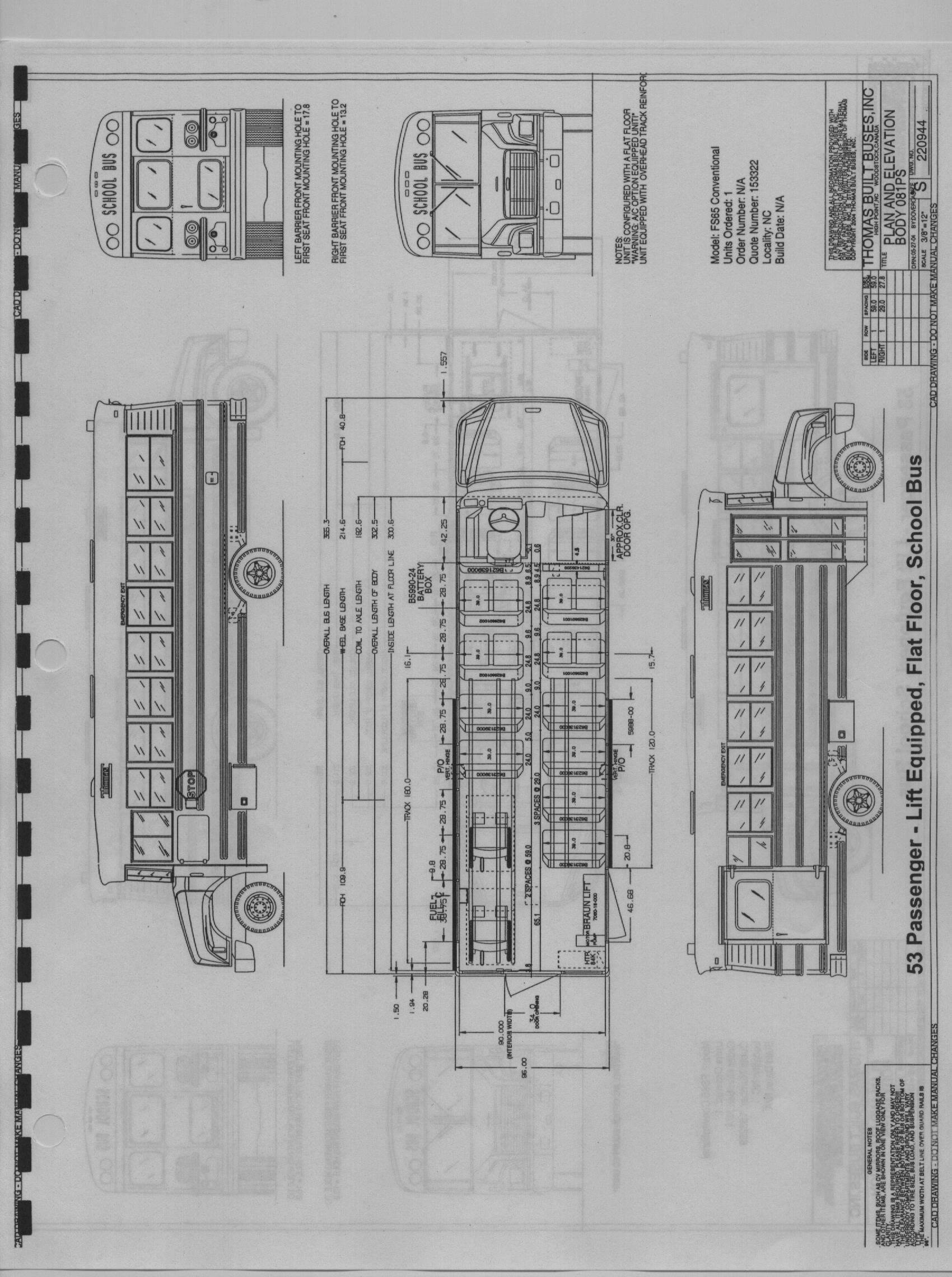 Thomas Buses Schematics Engine