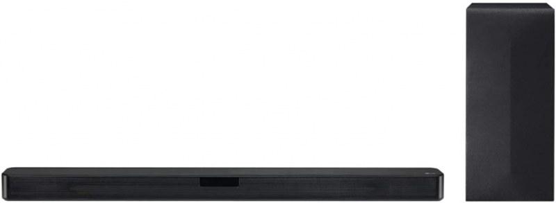 LG SN4 Dolby Digital 300 W Bluetooth Soundbar with Carbon Woofer & Wireless Subwoofer