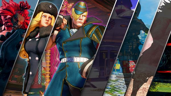 Street Fighter V Ed Reveal Trailer 14