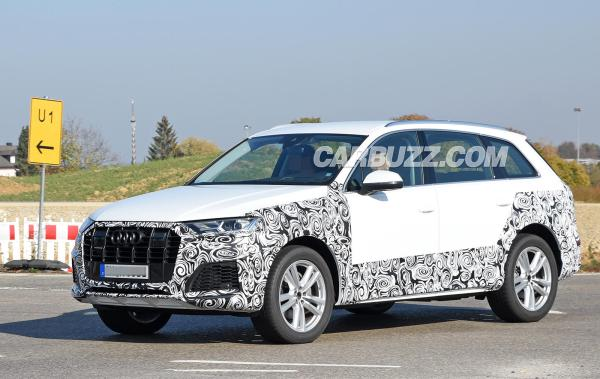 2020 Audi Q7 Facelift Spied With Fancy New Grille And ...