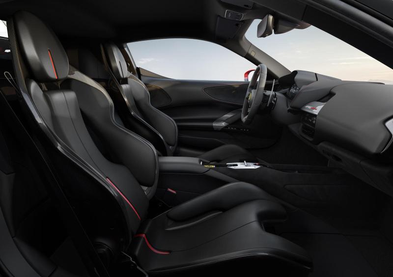 2020 Ferrari SF90 Stradale Front Seats