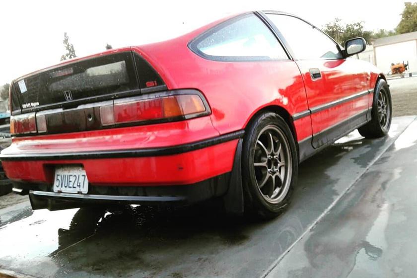 1990 honda crx si turbo