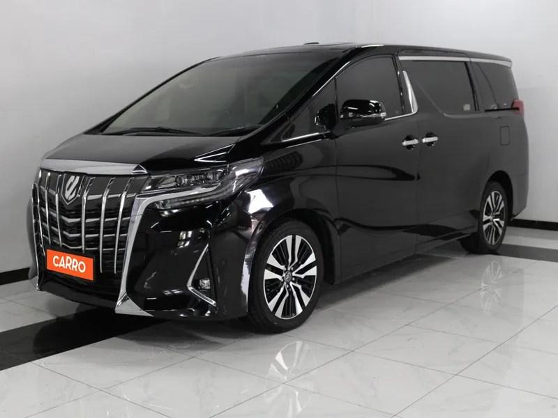 Dua di antaranya adalah tipe 2.5 x dan 2.5 g. Jual Beli Mobil Bekas Murah dan Bergaransi | Toyota Alphard 2.5 G 2018 Hitam | Carro.id