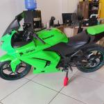 Kawasaki Ninja 250 R Verde 2010 Edu Motos Carro Limeira