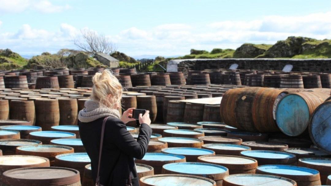 Anne-Sophie Bigot, de dame van de Whisky