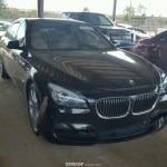 2011 Bmw 7 Series Alpina B7 Lwb Salvage Damaged Cars For Sale