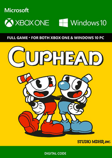 Cuphead Xbox One/PC cheap key to download