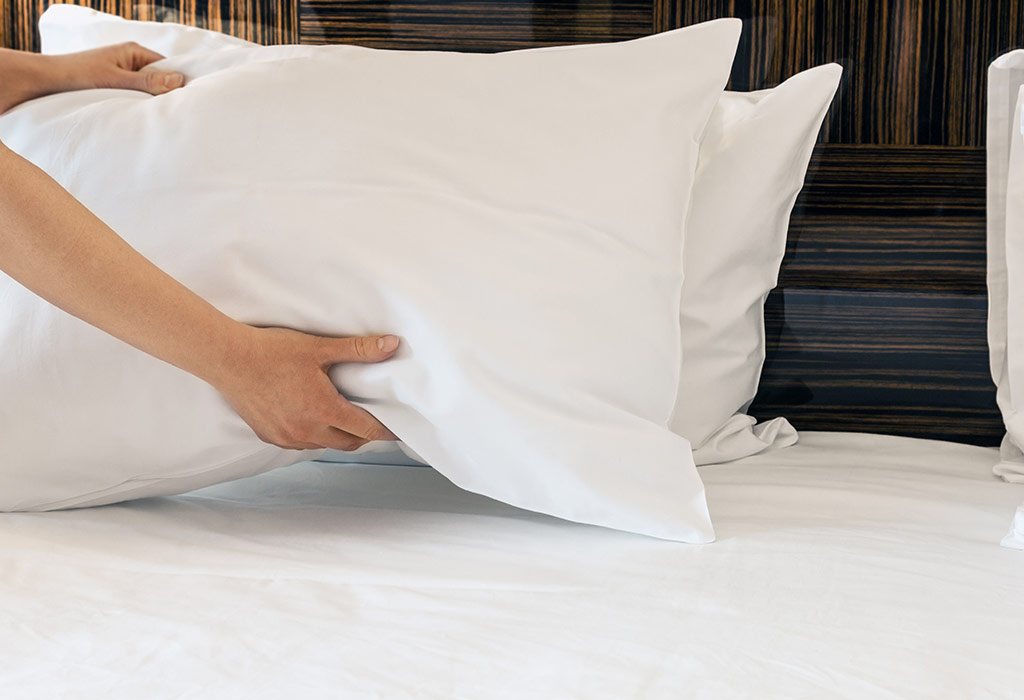 use pillow under the hips to concieve