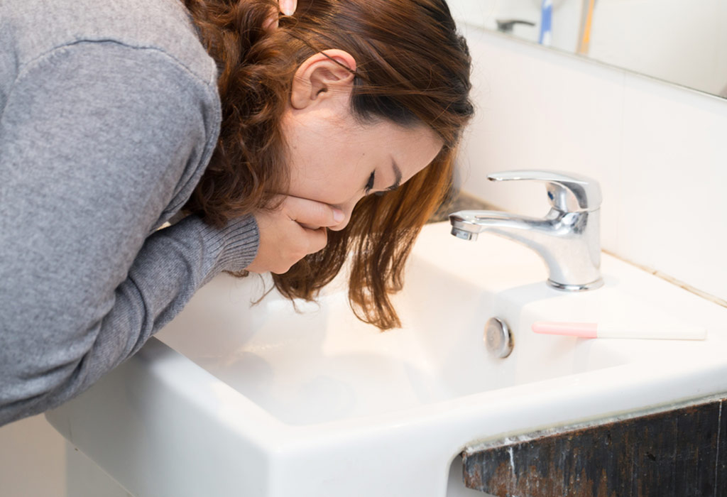 Vomiting Blood in Pregnancy: Cuases, Signs & Home Remedies