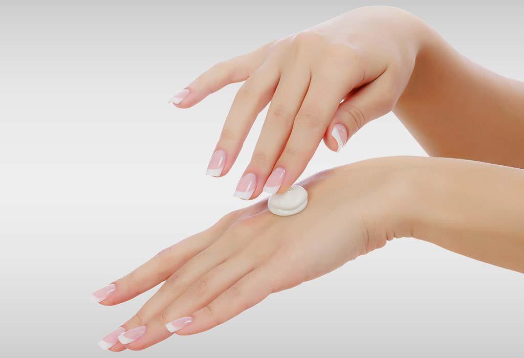 Change in moisturiser