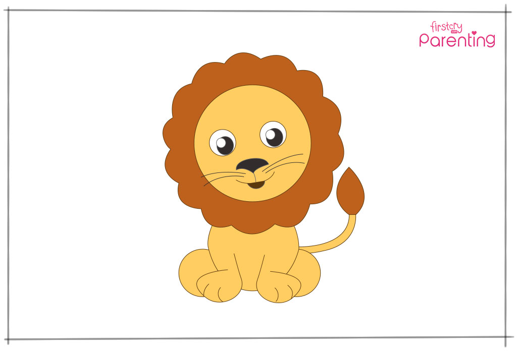 How To Draw A Lion A Step By Step Guide With Pictures