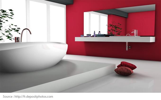 salle de bains blanche centris ca