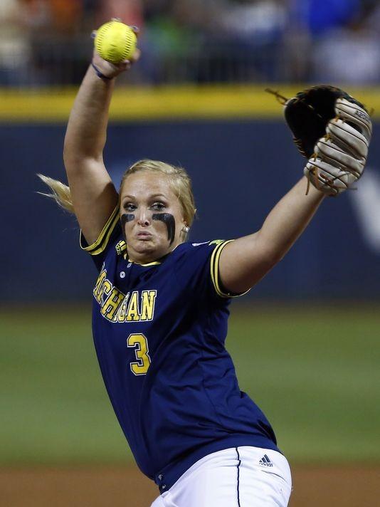 Behind Megan Besta Michigan Softball Has Won 17 Straight