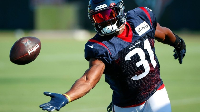 Texans banking on return to form for healthy David Johnson