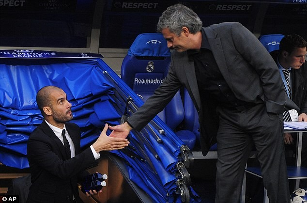 Pep Guardiola vs Jose Mourinho head-to-head record... the ...