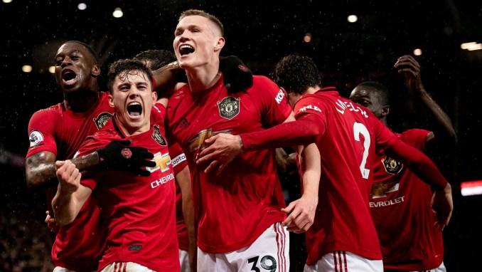 Man United provisional Premier League match