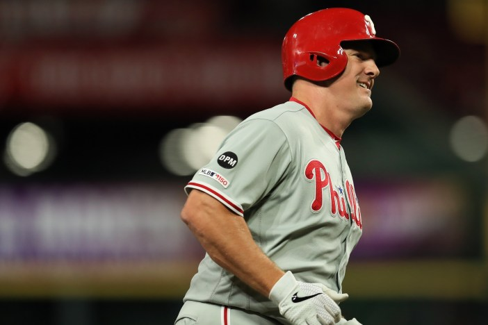 Who are the Phillies' top designated hitter options?