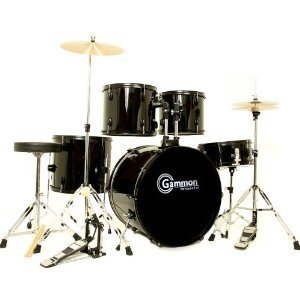 Cheap Drum Sets   Cheapism Buy      Gammon Percussion 5 Piece Complete Set