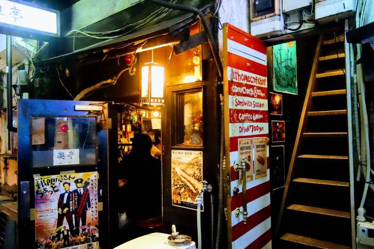 Golden Gai Bar Stairs