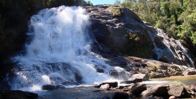 Serra da Bocaina, Cachoeira de Santo Izidro. Flickr. Foto: Fred Schinke.