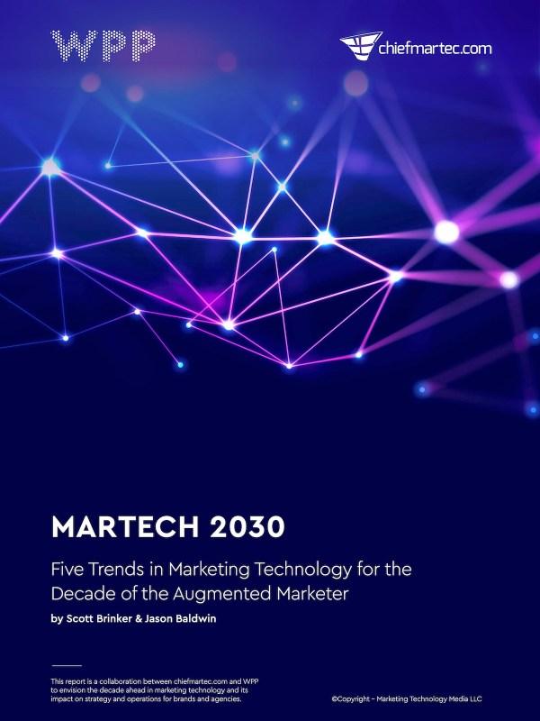 Martech 2030 Report