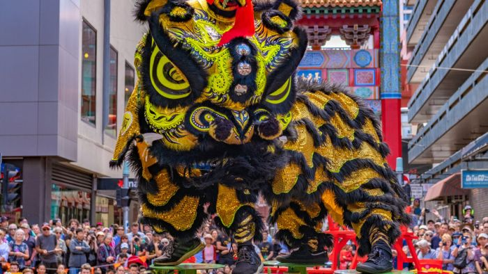 Australia-Features: Australian Lion Dance Troupe under the Epidemic-Chinatown Australia