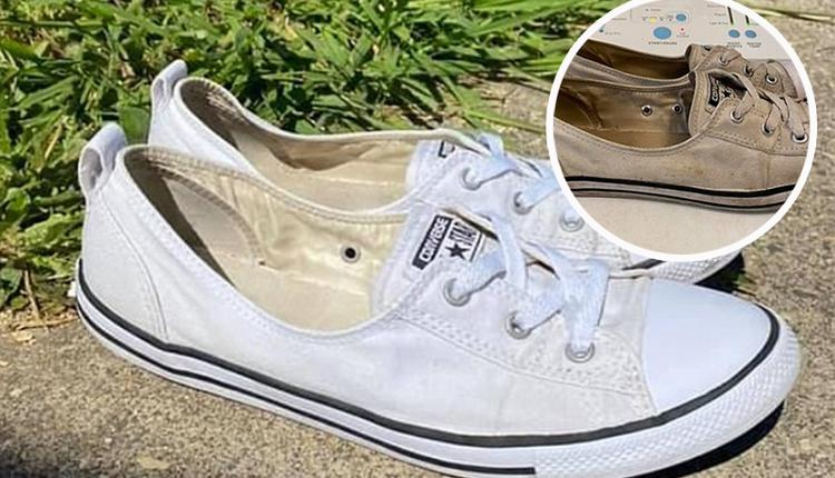 Super!Australian mothers can wash their white shoes for only $1.25!