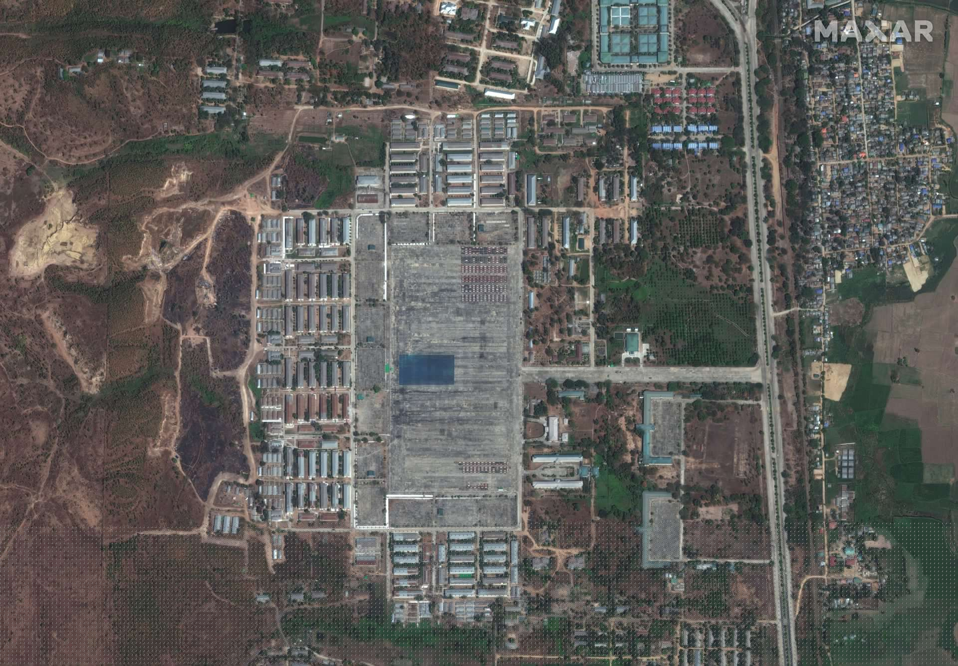 """Australia-Myanmar's """"Bloodest Day"""" Reuters Satellite Images Seeing Changes in Military Bases 