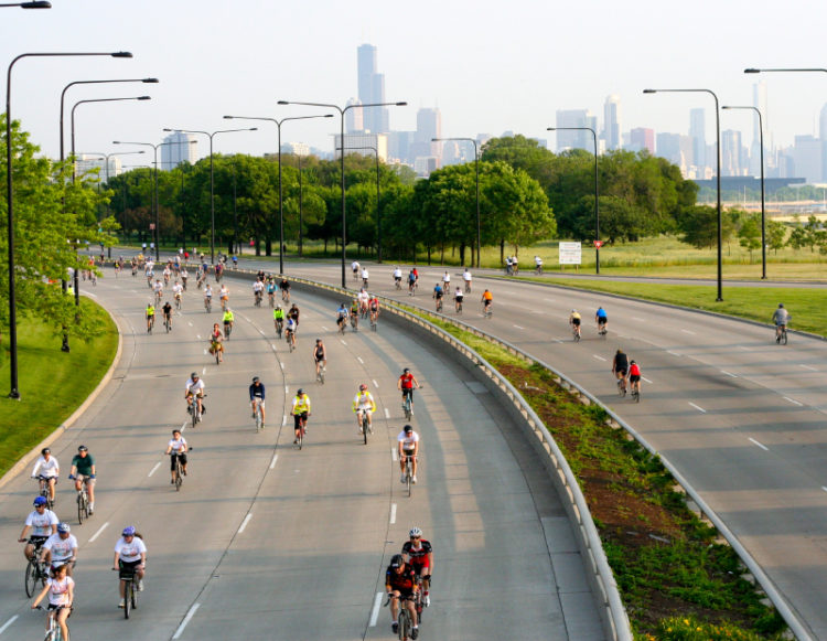 Bike the Drive in Chicago