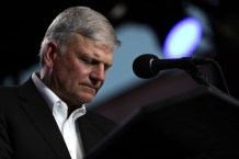 Franklin Graham and Southern Baptist Leaders React to the Pope's Same-Sex Civil Union Comments
