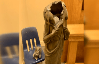 Archdiocese of Miami Calls for Hate Crime Investigation After Statue of Jesus is Left Headless by Vandals