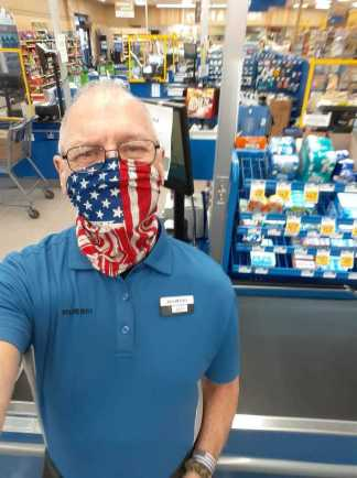 Food Lion Changes Face Mask Policy After Air Force Veteran Employee Was Told He Could Not Wear American Flag Mask