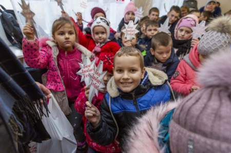Slavic Gospel Association Bringing Christmas Cheer and the Hope of Christ to Impoverished Children in Russia Through Immanuel's Child Initiative