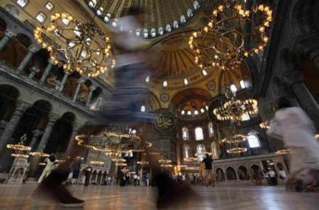 Erdogan Shows Support for Turning Istanbul's Hagia Sophia, Seat of Eastern Christianity for 900 Years, Back Into a Mosque