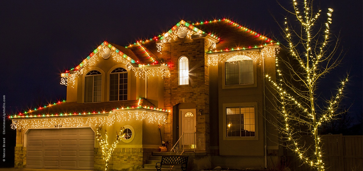 Christmas Light Bulb Outline