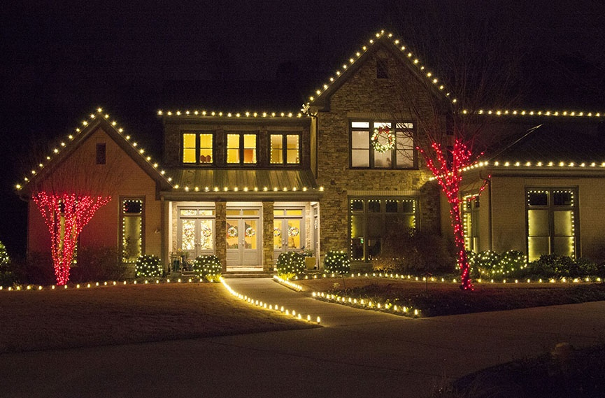 Red And White Alternating Led Christmas Lights