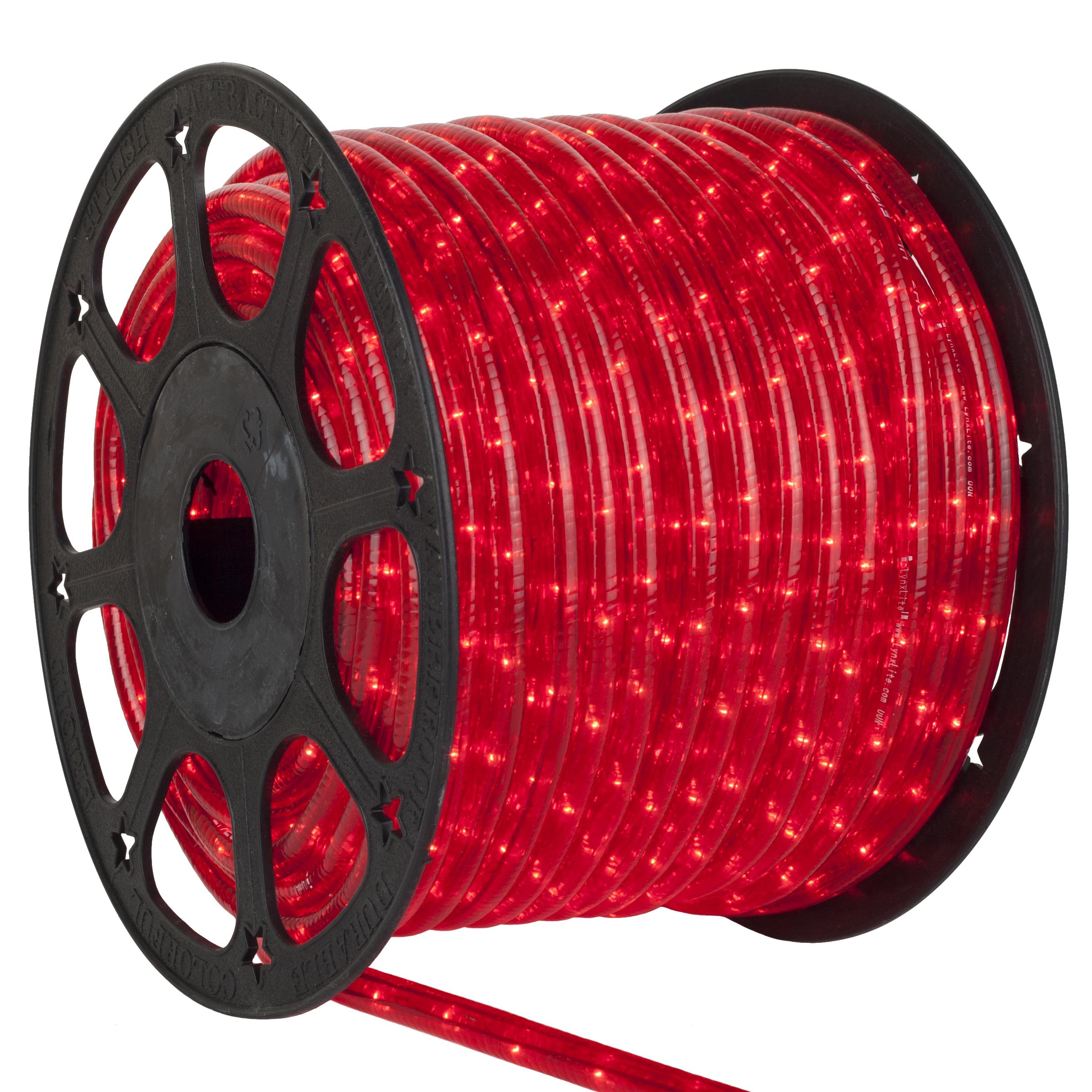 Rope Light 150 Red Mini Rope Light Commercial Spool