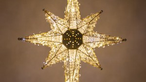 "Christmas Decorations 36"" Shimmering Warm Cool White"