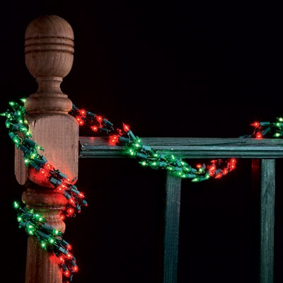 Garland Lights 9 Garland Lights 300 RedGreen Lamps