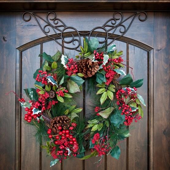 Hanging Accessories Decorative Wreath Hanger Deco
