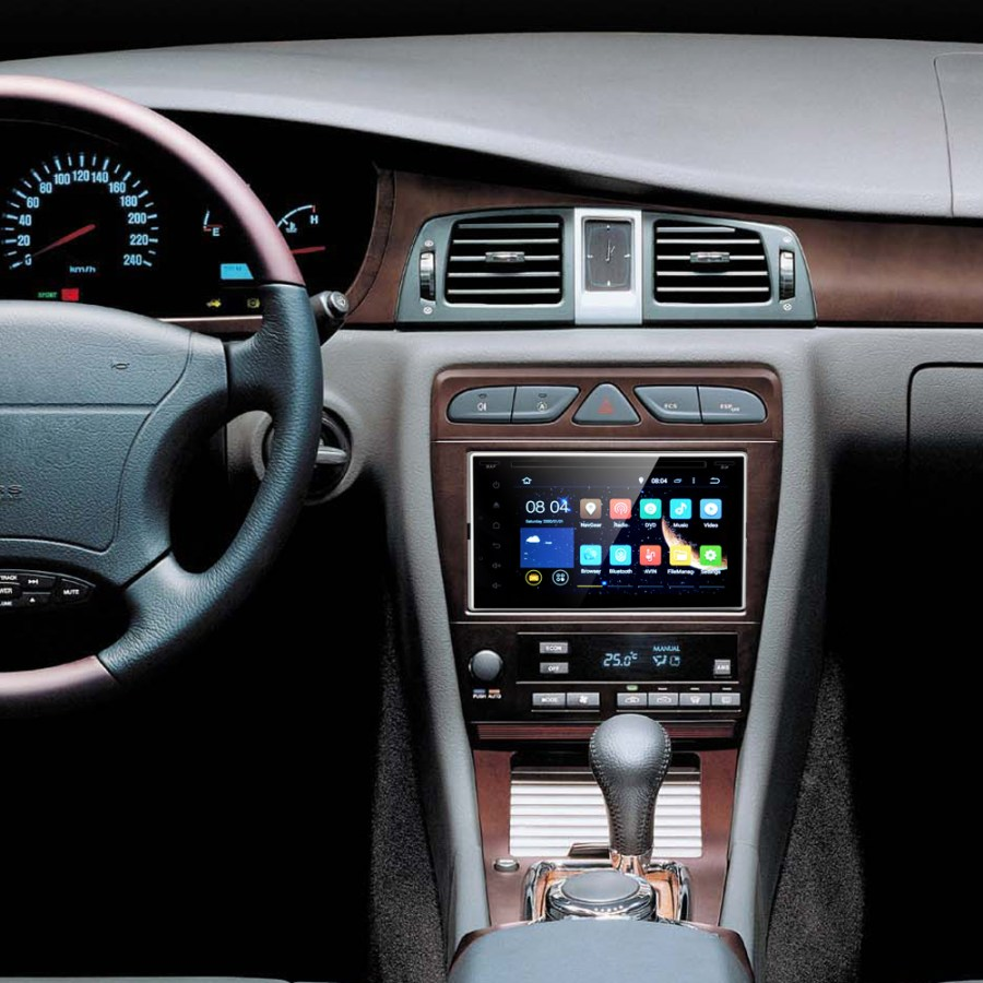 2 DIN Android 4.4 Touch Screen Car DVD System 'Road Rock'