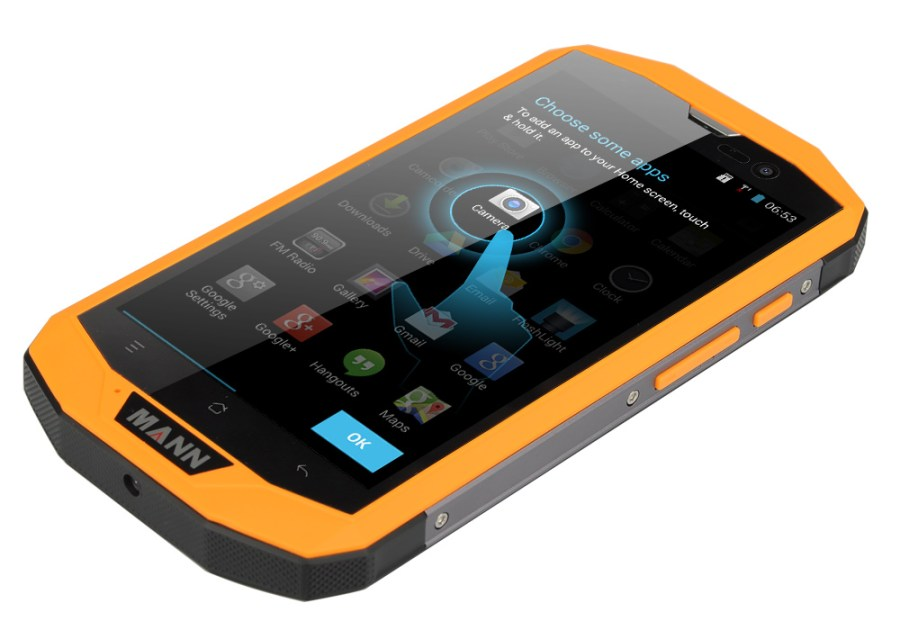 MANN ZUG 5S+ Rugged Phone
