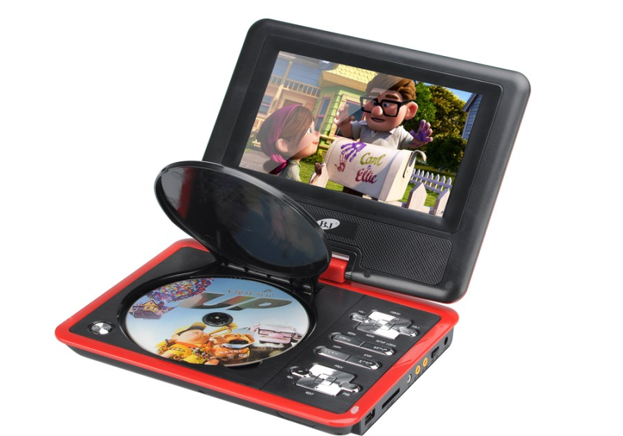 9 Inch Region Free Portable DVD Player