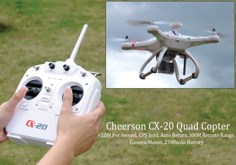 Cheerson CX-20 Quadcopter