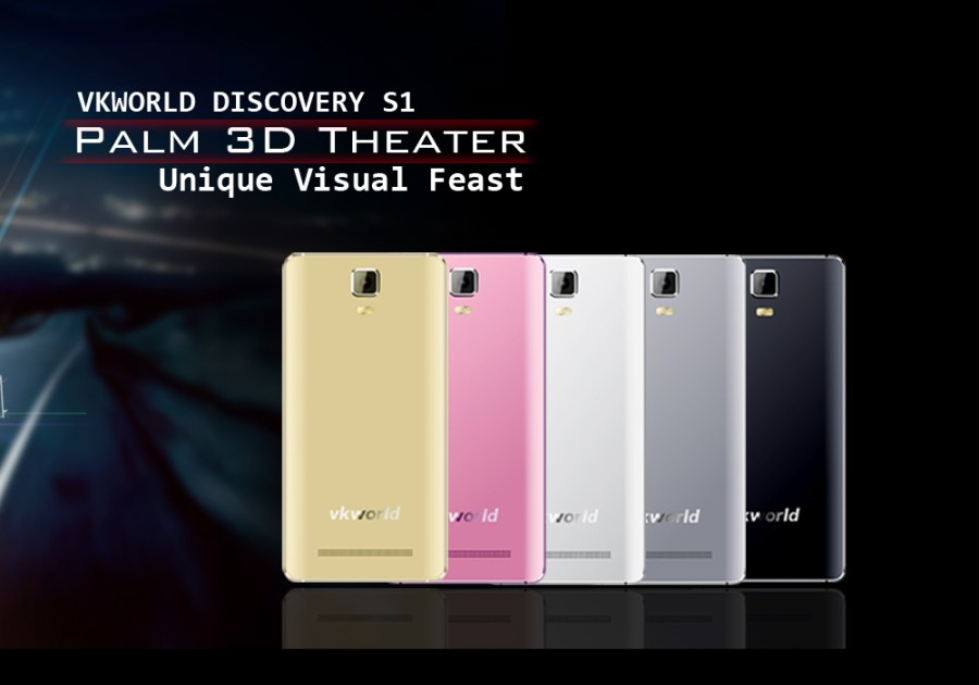 VKWorld Discovery S1 3D Smartphone