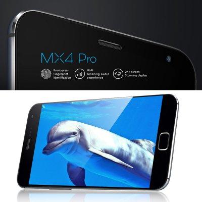 Meizu MX4 PRO 16GB Smartphone - 4G, Octa Core CPU, 3GB RAM, 5.5 Inch IPS OTG Screen, 16GB Memory Capacity, Flyme 4.1 OS (Gray)