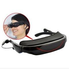 portable video glasses virtual