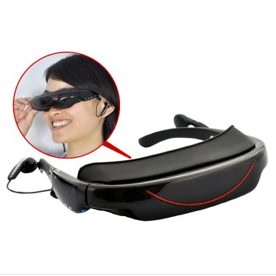 Portable Video Glasses - 4GB, AV function