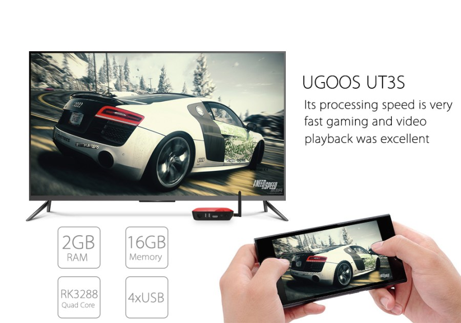 UGOOS UT3S Dual Boot Mini PC