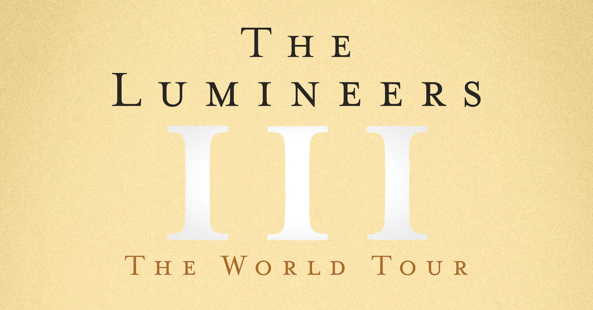 the lumineers official iii tour